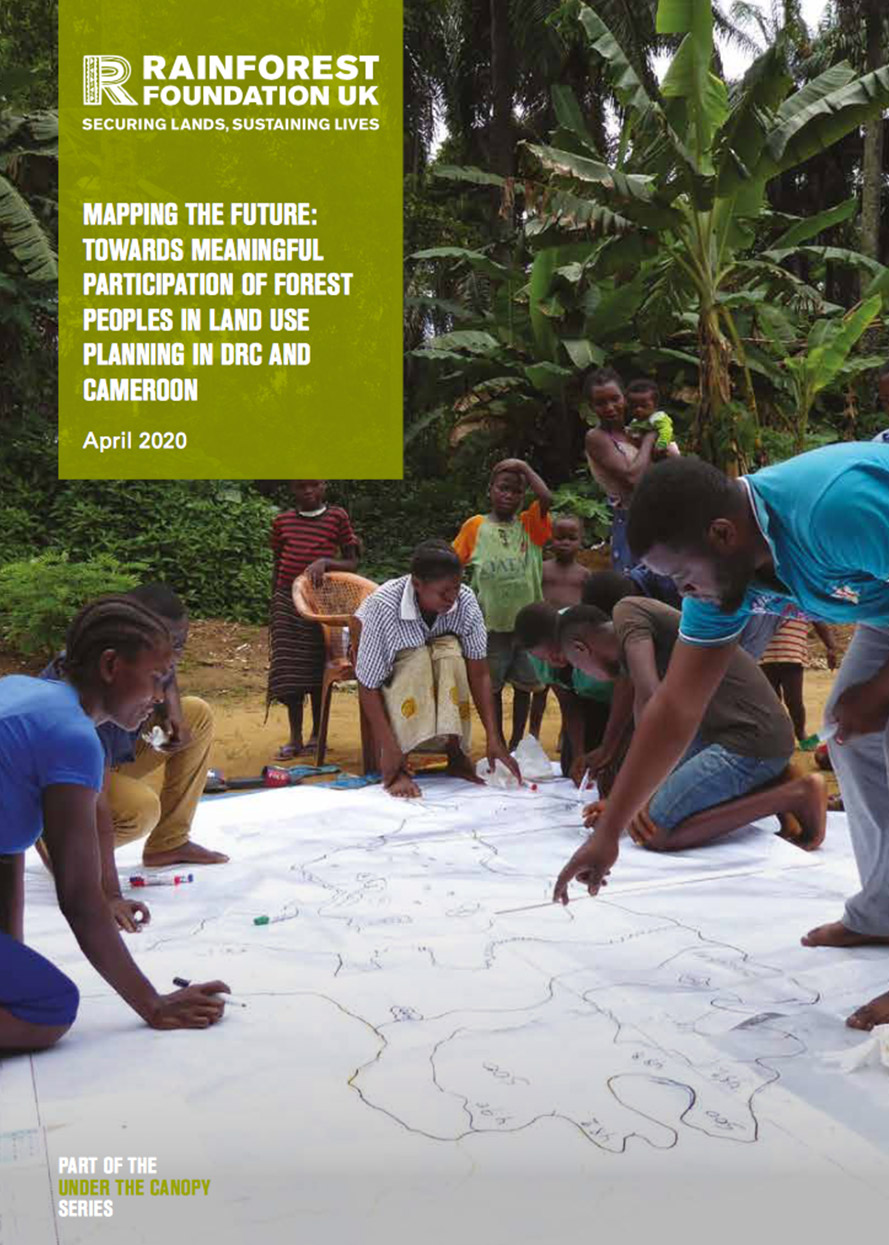 MAPPING THE FUTURE: TOWARDS MEANINGFUL PARTICIPATION OF FOREST PEOPLES IN LAND USE PLANNING IN DRC AND CAMEROON