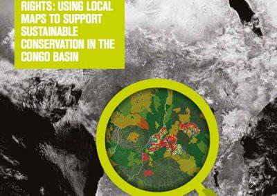 Aires protégées et droits communautaires: Uitliser les cartes participatives pour soutenir la conservation durable dans le Bassin du Congo