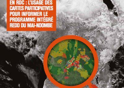 REDD et les Droits Communautaires en RDC: L'usage des Cartographie Participatives pour Informer le Programme Intégré REDD du Mai Ndombe